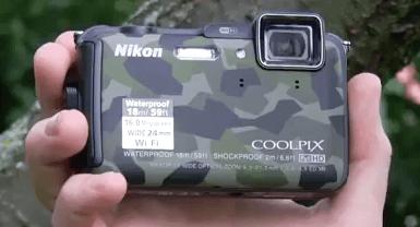 Nikon aw 120 color militar
