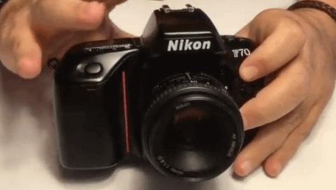 Nikon información f70