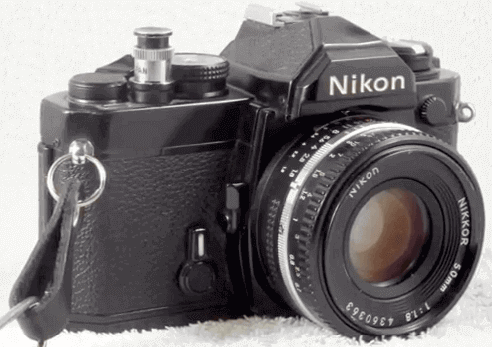Nikon cámara FM