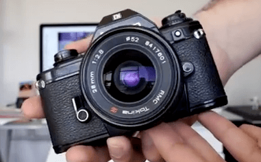 Nikon cámara modelo EM