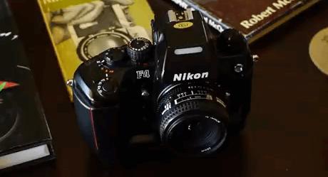 Nikon F4 cámara