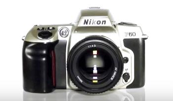 Nikon barata f60