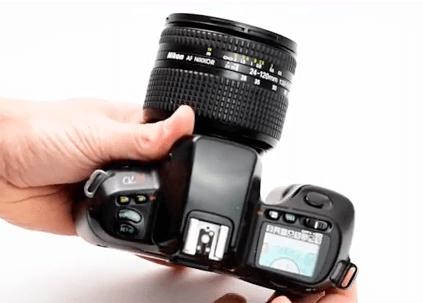 Nikon cámara f70 oferta