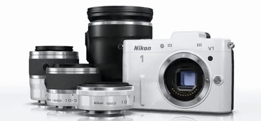 Nikon kit completo 1 V1