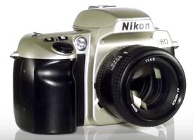 f60 Nikon cámara