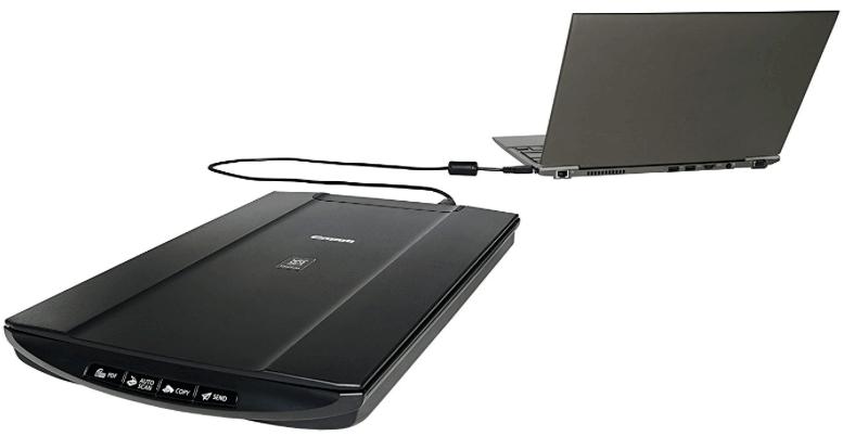 Canon Lide canoscan escáner 120