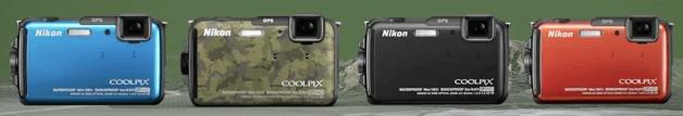 Nikon modelos Coolpix aw110