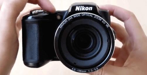 Nikon cámara Coolpix l830