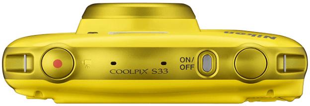 Nikon Coolpix cuerpo s33