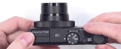 Nikon cuerpo cámara p340