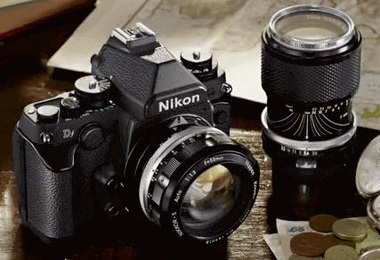 Nikon modelo cámara df