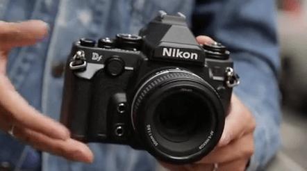 Nikon df otras cámaras