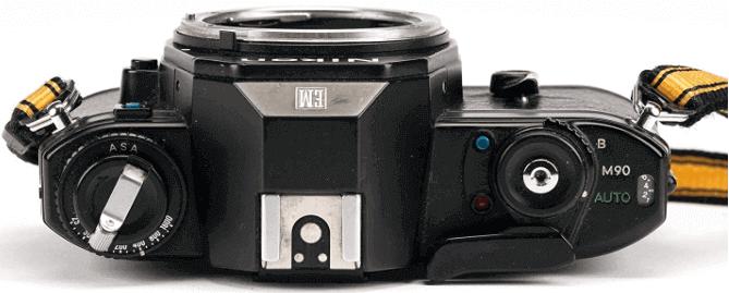 Nikon diseño sencillo modelo EM
