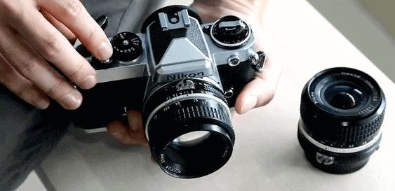 fe Nikon diseño compacto