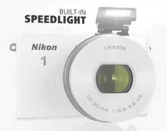 Nikon sistema flash 1 j4
