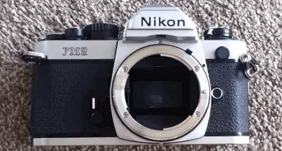 Nikon diseño cámara fm2