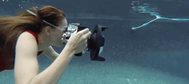Cámara foto acuática Nikon
