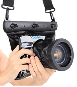 Funda impermeable cámara Nikon