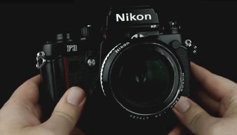 Nikon cámara f3