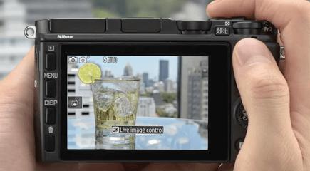 Nikon pantalla táctil 1 j4