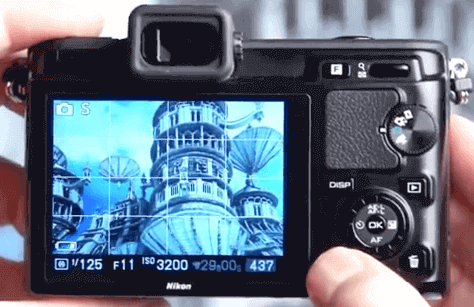 V1 Nikon pantallas de calidad