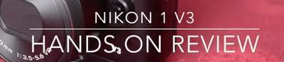 Cámara Nikon 1 v3