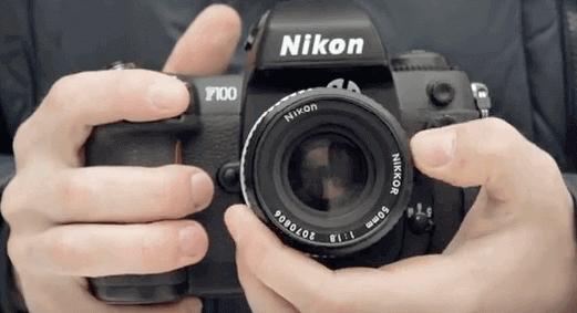 f100 Nikon clásica