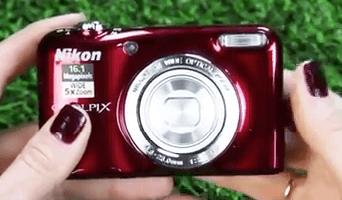 Nikon Coolpix roja l29