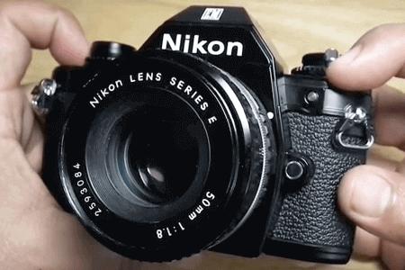 Nikon kit objetivo EM