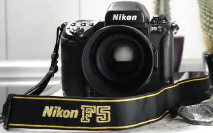 Nikon digital F5