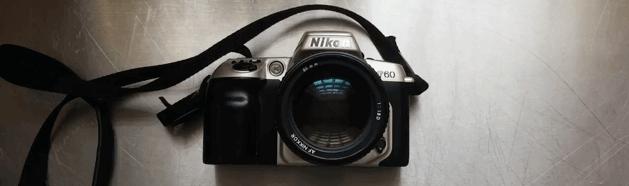 cámara analógica f60 Nikon