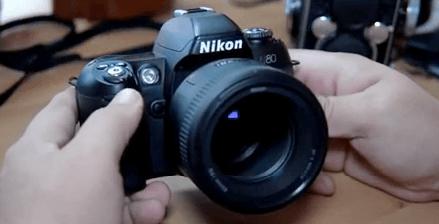 Nikon baratas f80