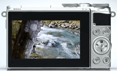 Nikon pantalla 1 J5