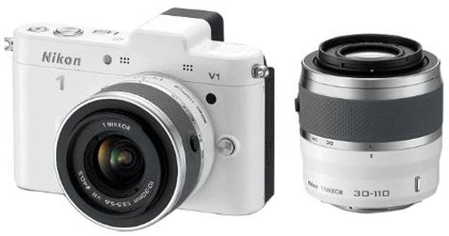 Nikon kit objetivo V1