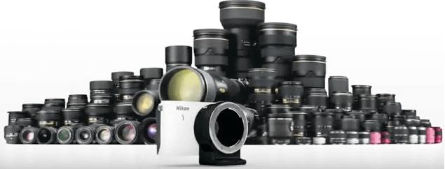 Nikon objetivo 1 s1