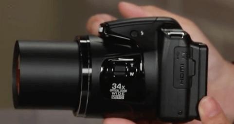 Coolpix l830 Nikon Objetivo