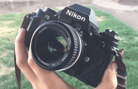 F3 Objetivo cámara Nikon