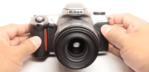 Cámara Nikon réflex F65