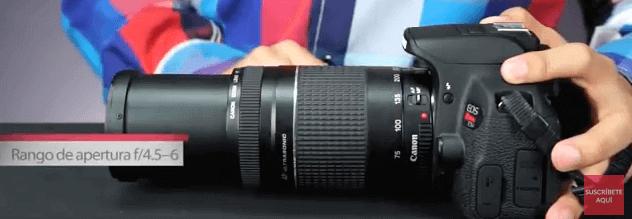 Canon Objetivo fotografías