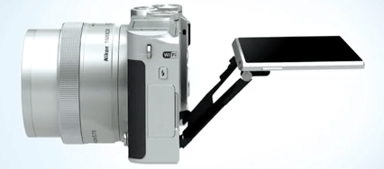 Nikon pantalla abatible 1 J5