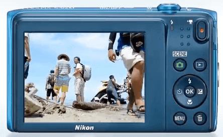 Nikon Coolpix pantalla s3600