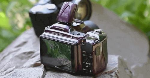 La Nikon Coolpix pantalla l830