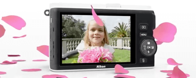 Nikon pantalla cámara 1 J3
