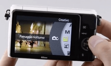 Nikon pantalla 1 s1