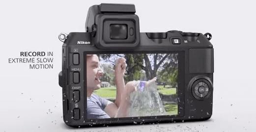 Cámara Nikon pantalla 1 v2