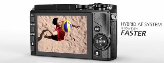 Nikon pantalla cámara 1 v3