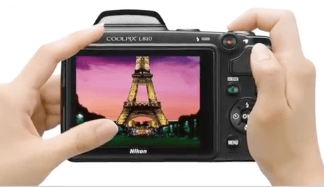 Coolpix Nikon l810 pantalla