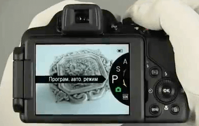 Nikon pantalla p520