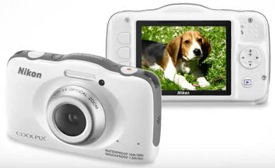 Nikon pantalla Coolpix s32