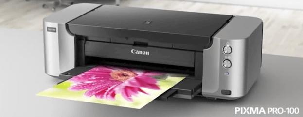 impresora pixma de Canon pro 100